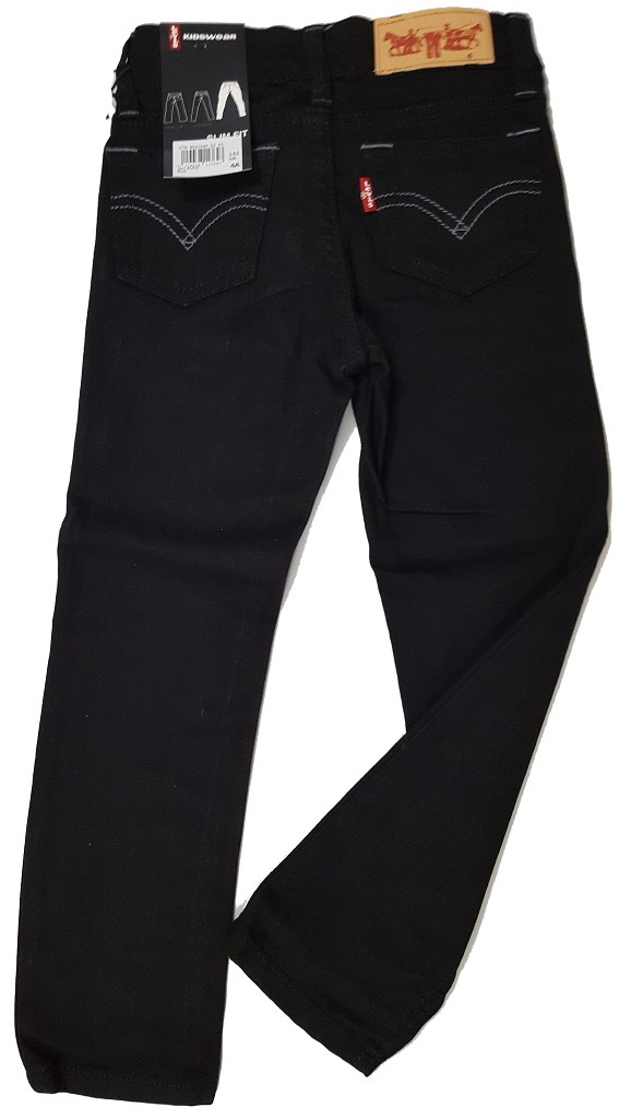 Pantalon Jeans Jael Black Fille - 5 ans