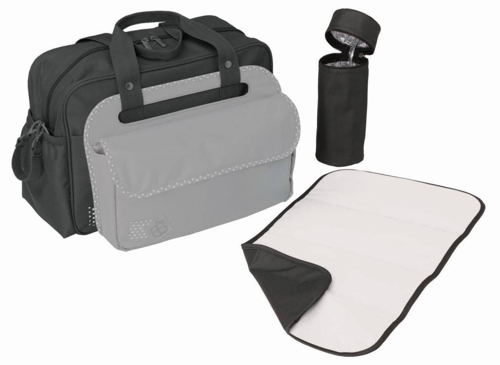 candide sac langer 3 en 1 anthracite gris clair. Black Bedroom Furniture Sets. Home Design Ideas