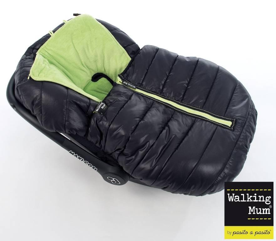 walking mum chanceli re si ge auto universelle noir citron vert verbier. Black Bedroom Furniture Sets. Home Design Ideas