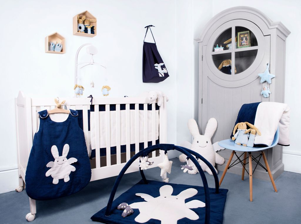nid d 39 ange ange lapin marine doudouplanet. Black Bedroom Furniture Sets. Home Design Ideas