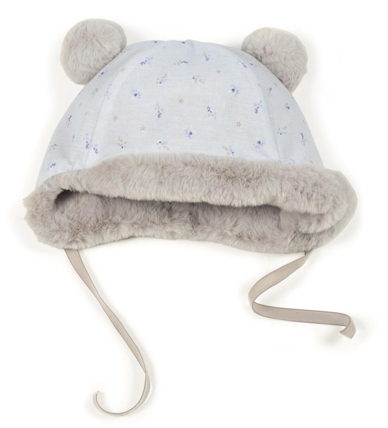 Bonnet Gris Fur
