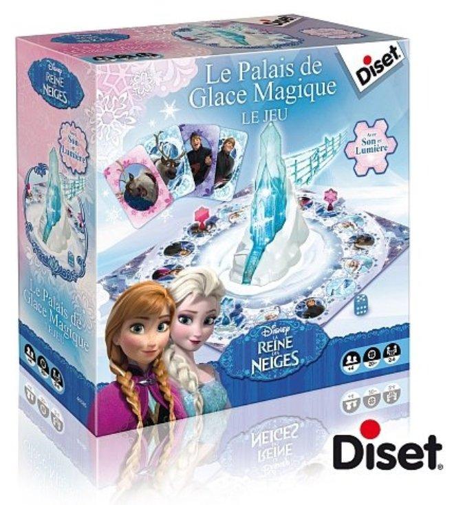 Diset le jeu du palais de glace magique la reine des neiges - Palais de glace reine des neiges ...