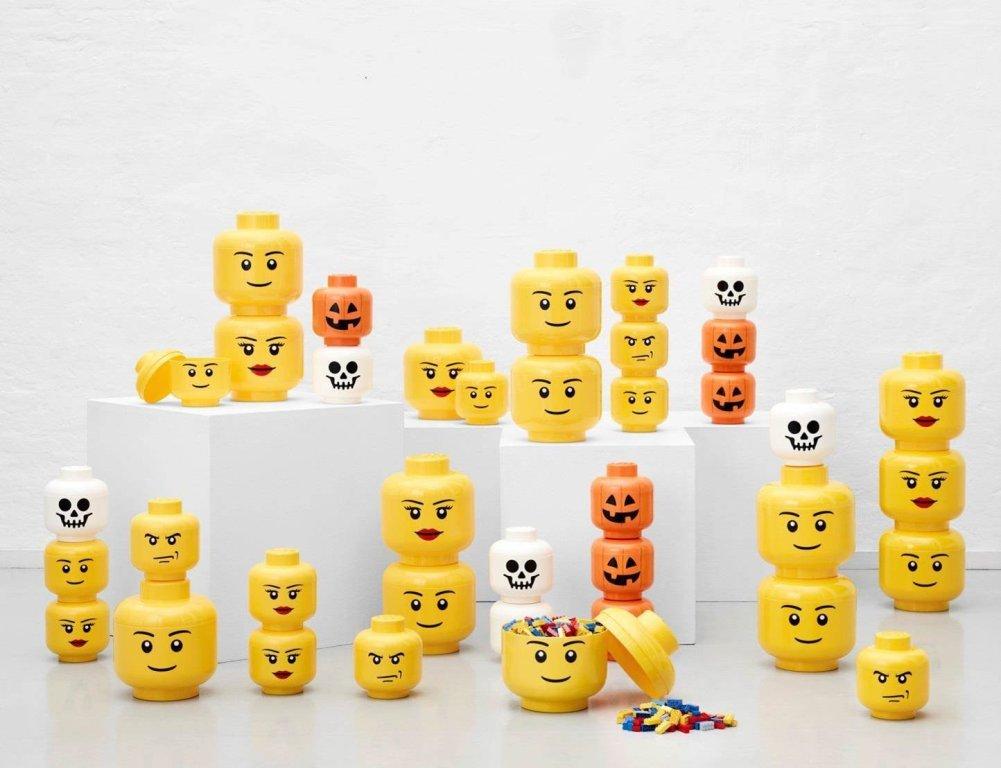 Grande Tête de Rangement Lego Large Garçon