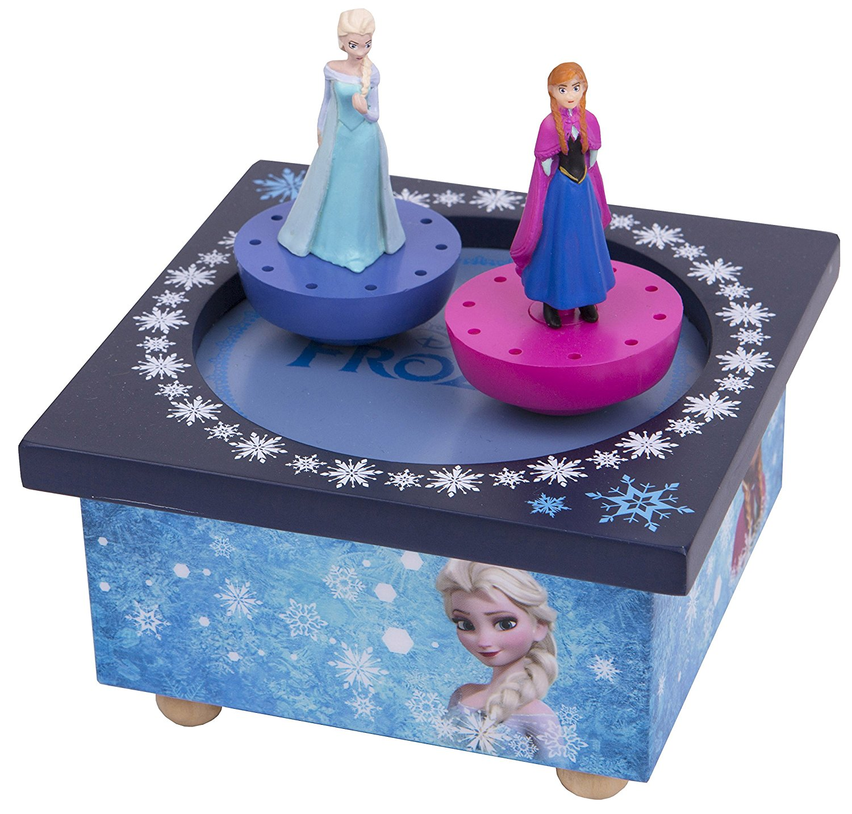 Boite à Musique La Reine des Neiges Elsa et Anna
