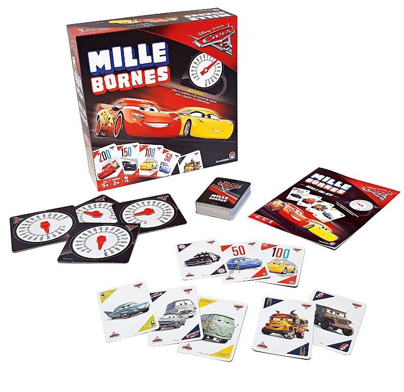 Jeu Mille Bornes Cars 3