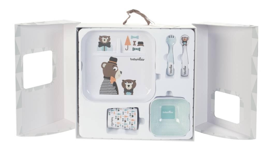 babymoov coffret repas lovely bear doudouplanet. Black Bedroom Furniture Sets. Home Design Ideas