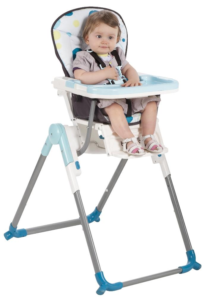 babymoov chaise haute slim turquoise doudouplanet. Black Bedroom Furniture Sets. Home Design Ideas