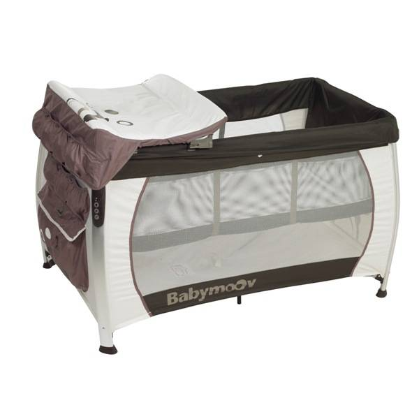 babymoov lit parapluie silver dream chocolat blanc. Black Bedroom Furniture Sets. Home Design Ideas