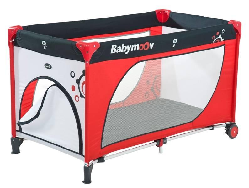 babymoov lit parapluie moonlight rouge gris. Black Bedroom Furniture Sets. Home Design Ideas