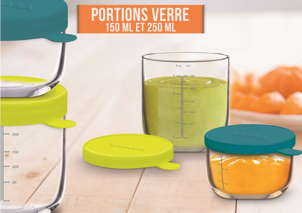 Portion Verre Néon - 250 ml