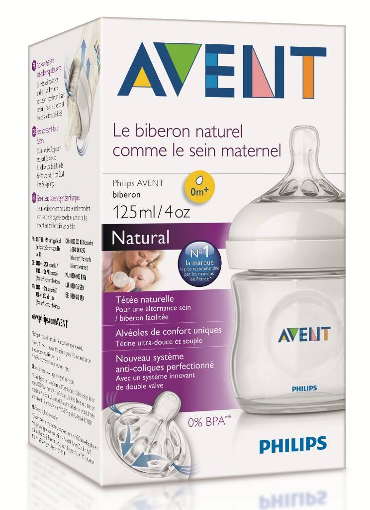 Biberon Natural 125 ml