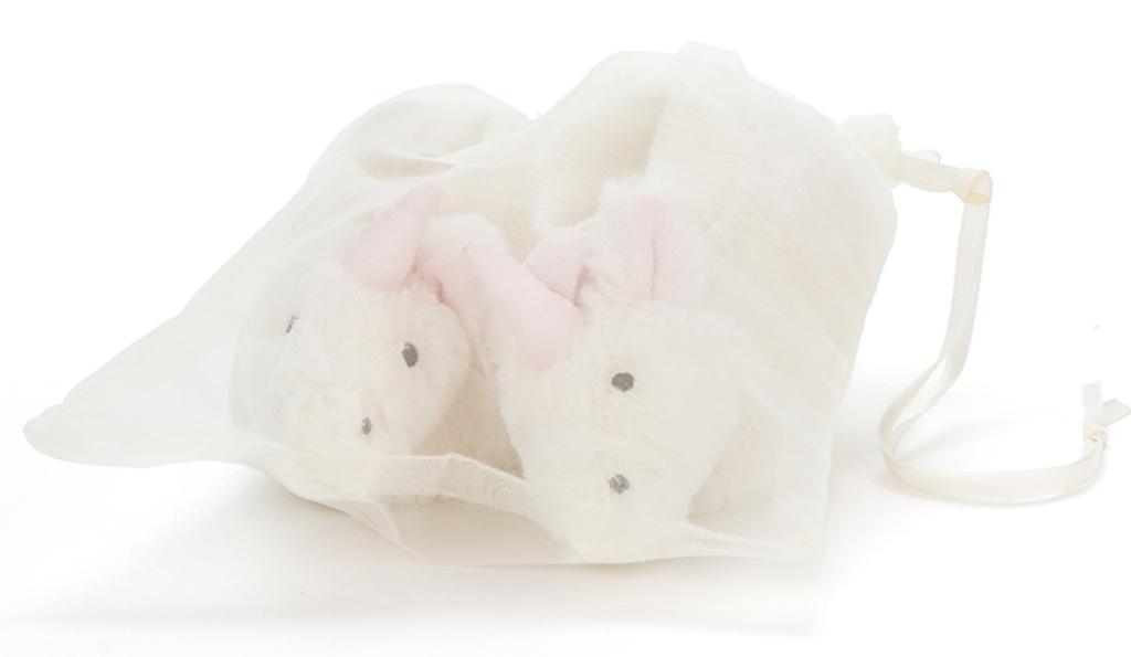 Chaussons Licorne Bashful - 0-6 mois