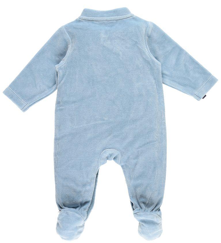Pyjama Zèbre Zebrito Bleu Arona - 3 Mois