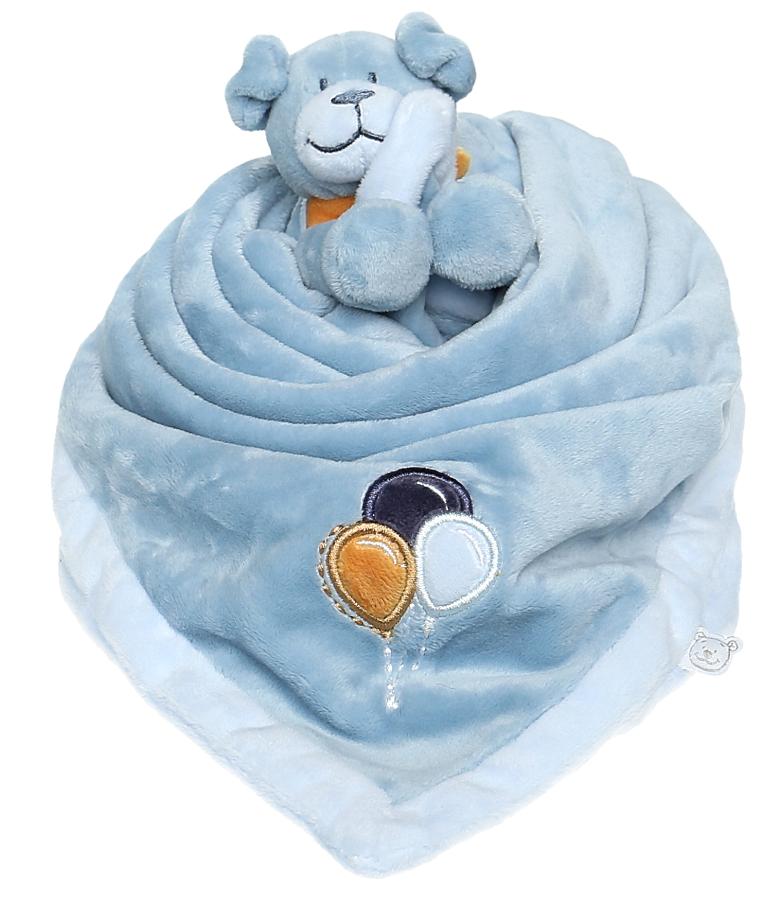 Noukies doudou couverture chien achille - Couverture pour petit chien ...