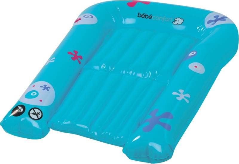 B b confort baignoire et matelas langer gonflable - Table a langer baignoire bebe confort ...