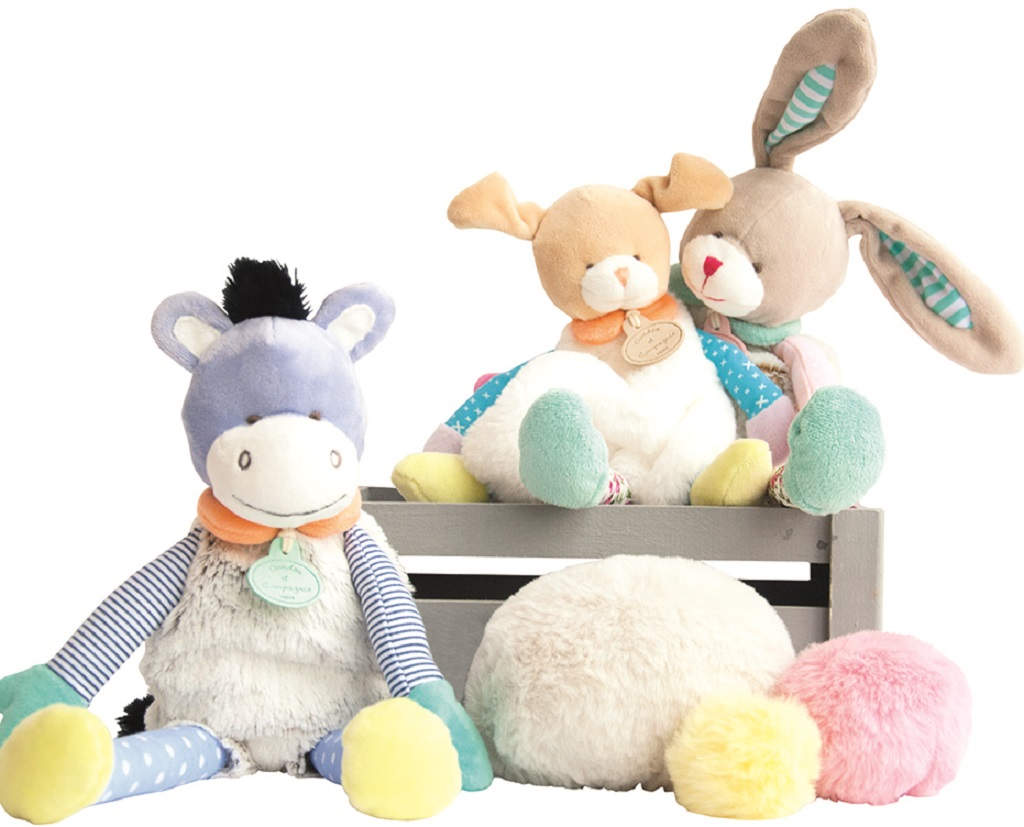 doudou et compagnie lapin 22 cm. Black Bedroom Furniture Sets. Home Design Ideas