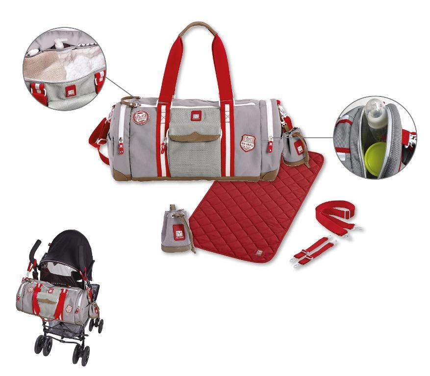 red castle sac langer bowling grey doudouplanet. Black Bedroom Furniture Sets. Home Design Ideas