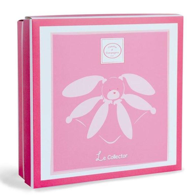 Doudou Lapin Rose Collector - 28 cm