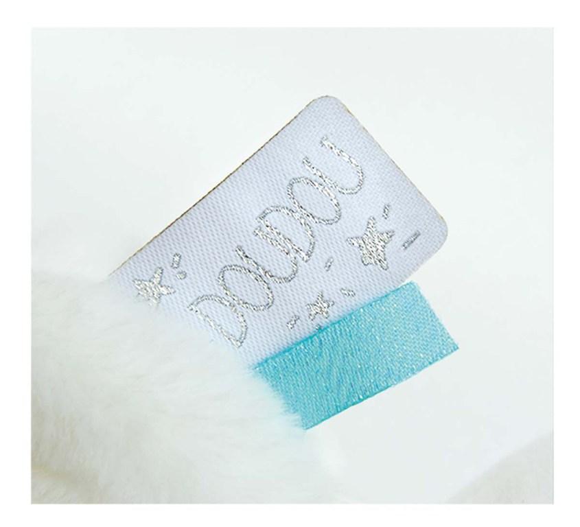 Peluche Ours Le Doudou Bleu - 20 cm