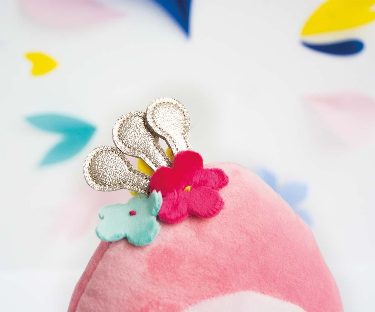 Peluche Flamant Rose Tropi'Cool - 30 cm