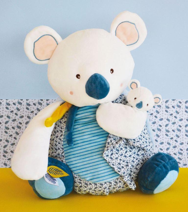 Peluche Range Pyjama Koala Yoca - 40 cm