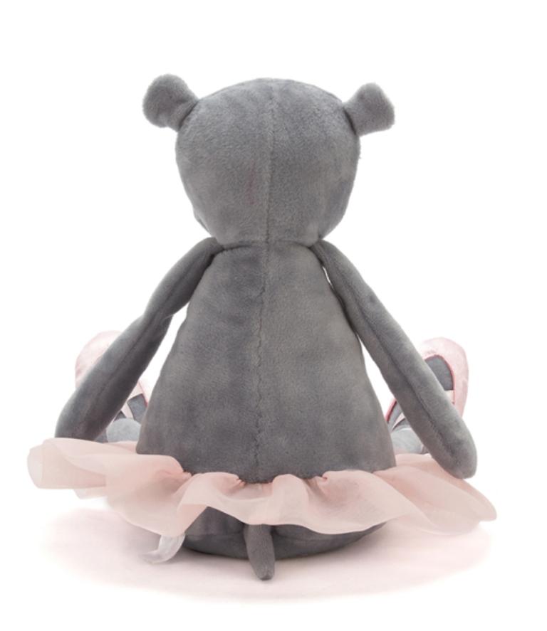 Peluche Hippo Dancing Darcey  - 33 cm