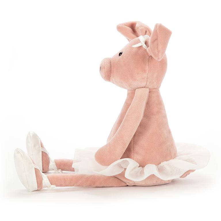 Peluche Cochon Dancing Darcey - 33 cm