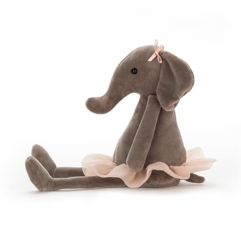 Peluche Eléphant Dancing Darcey - 23 cm