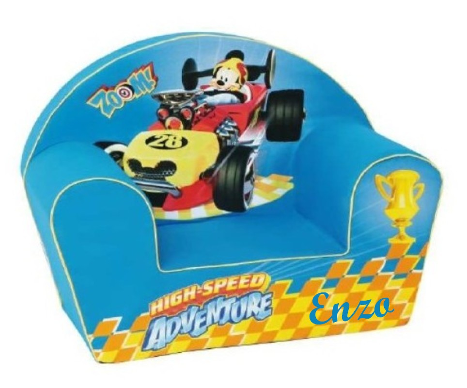 Fauteuil Mickey Roadster racers