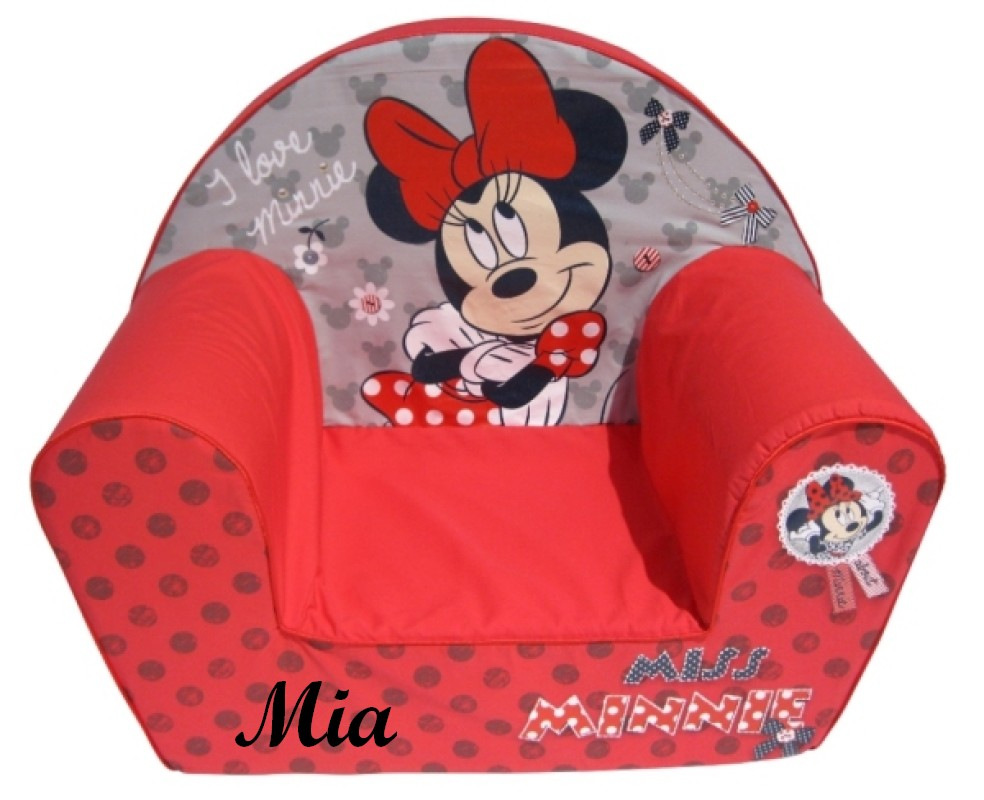 Fauteuil Miss Minnie Rouge
