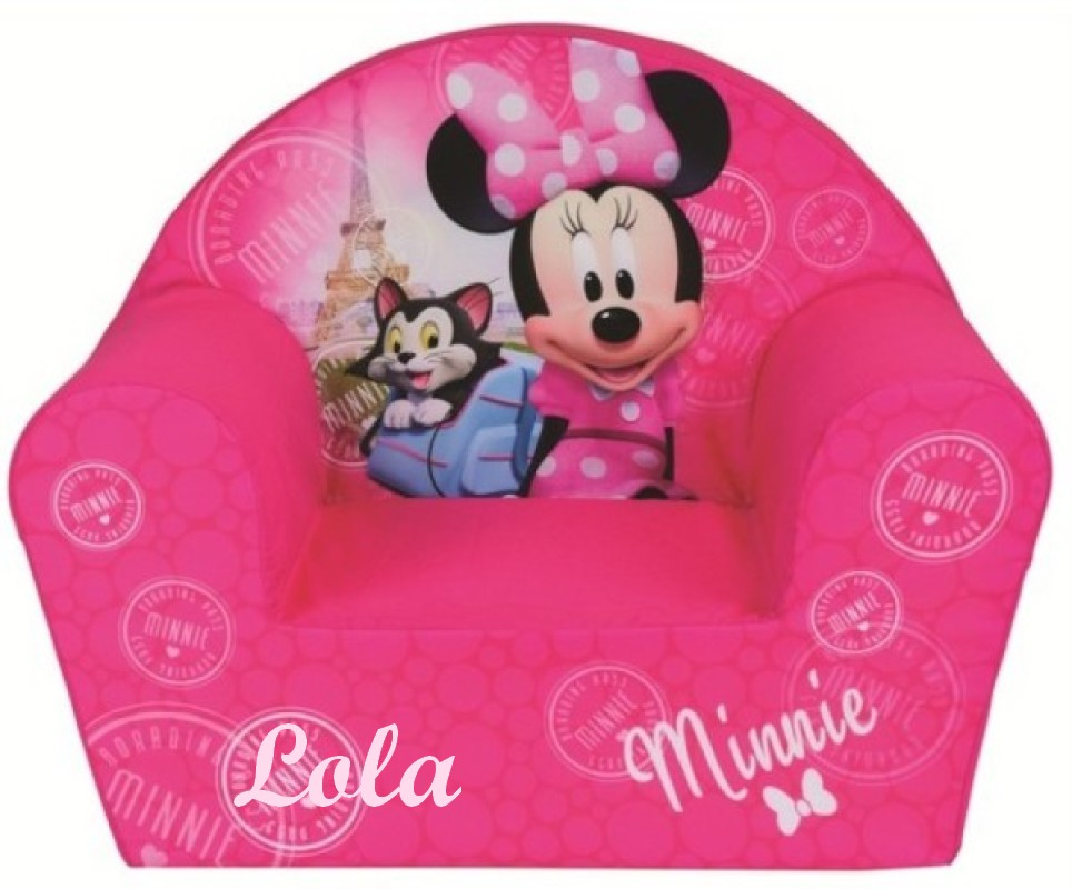 Fauteuil Club Disney Minnie Paris