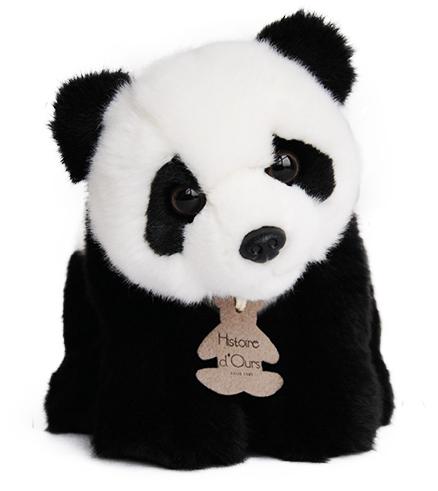 Peluche Panda Les Authentiques - 20 cm