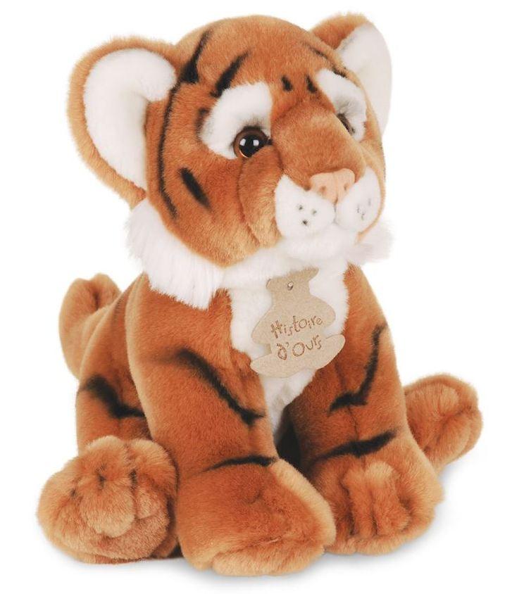 Peluche Tigre Les Authentiques - 20 cm