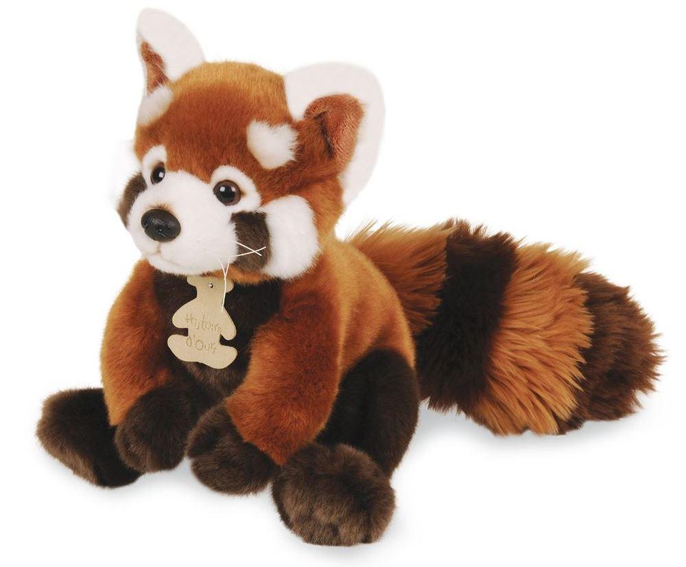 Peluche Panda Roux Les Authentiques - 20 cm
