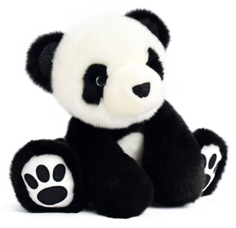 Peluche Panda Noir So Chic - 25 cm