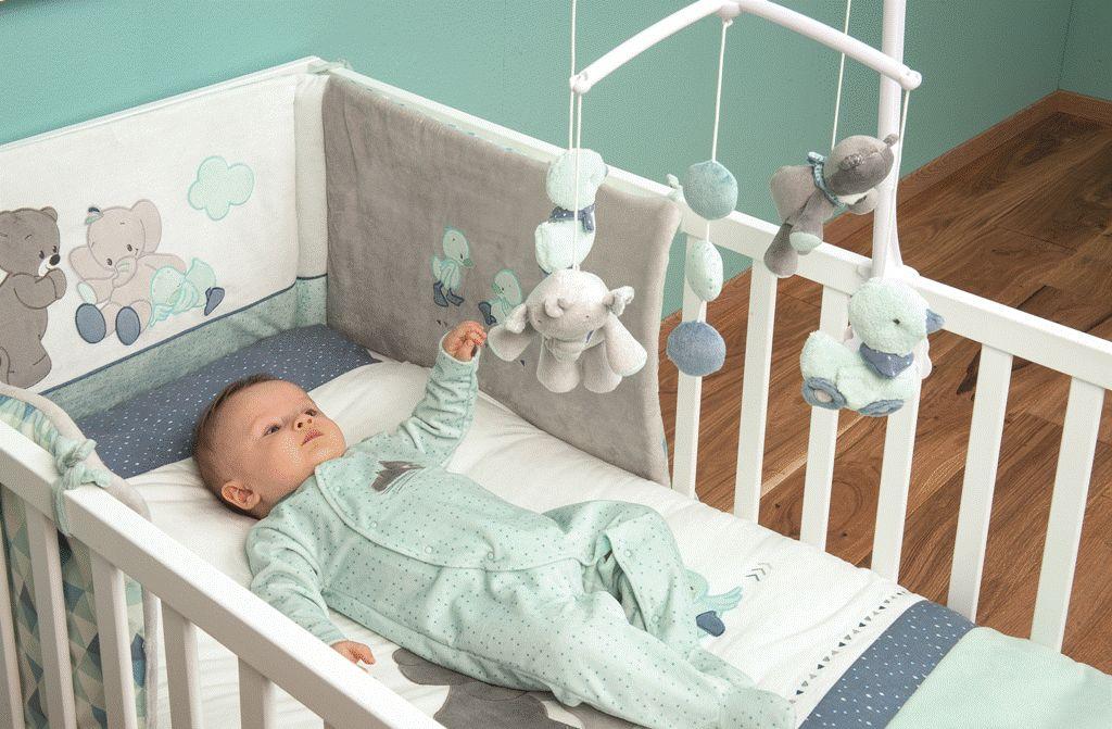 tour de lit bébé nattou Nattou   Tour de lit jack jules nestor Doudouplanet tour de lit bébé nattou