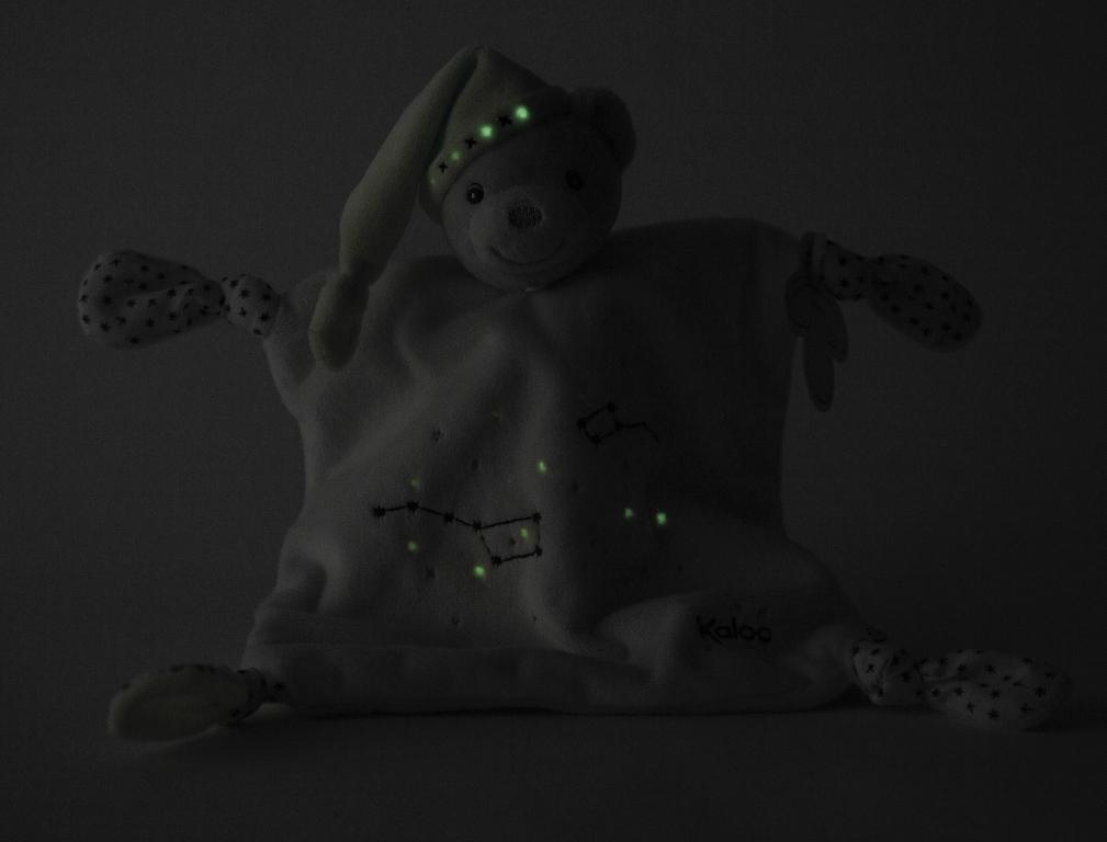 Doudou Ourson 4 Noeuds Petite Etoile