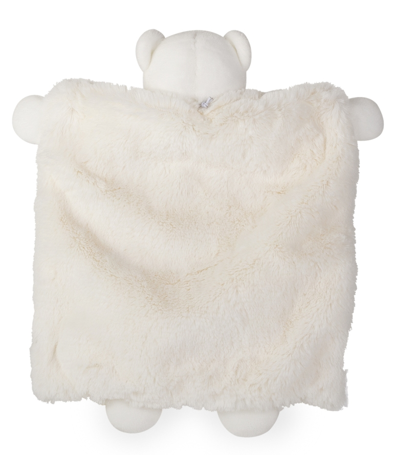 Doudou Marionnette Ours Crème Perle