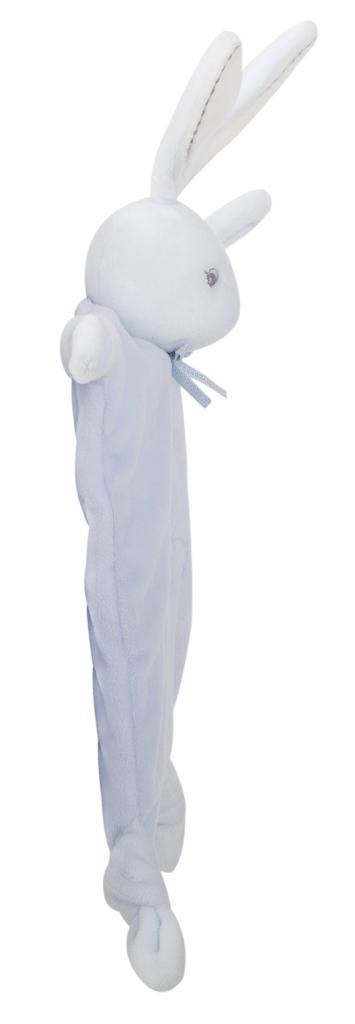 Doudou Lapin Bleu Perle