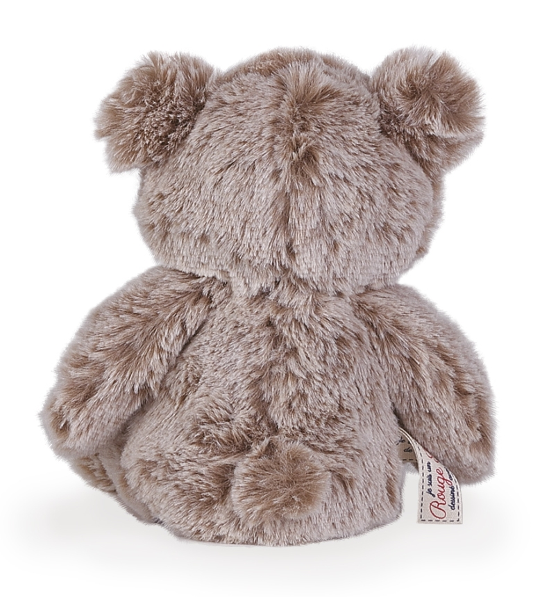 Peluche Petit Ours Sable - Rouge