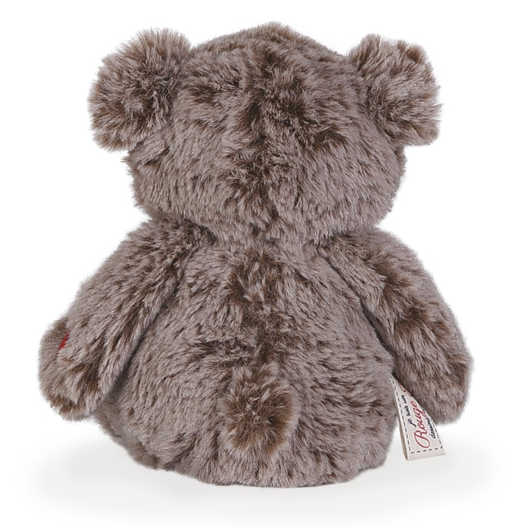 Peluche Petit Ours Cacao - Rouge