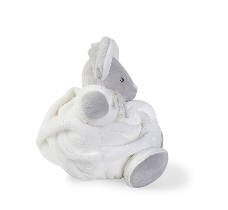 Peluche Lapin Patapouf Crème Plume Medium - 25 cm