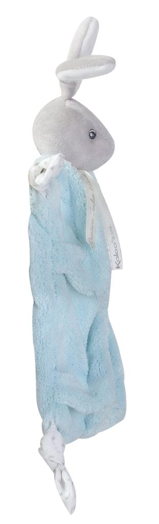 Doudou Lapin Aqua Plume - 20 cm