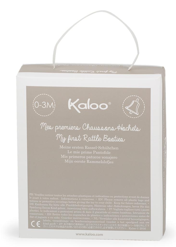 Chaussons Lapinou Bleu Plume - 0-3 mois