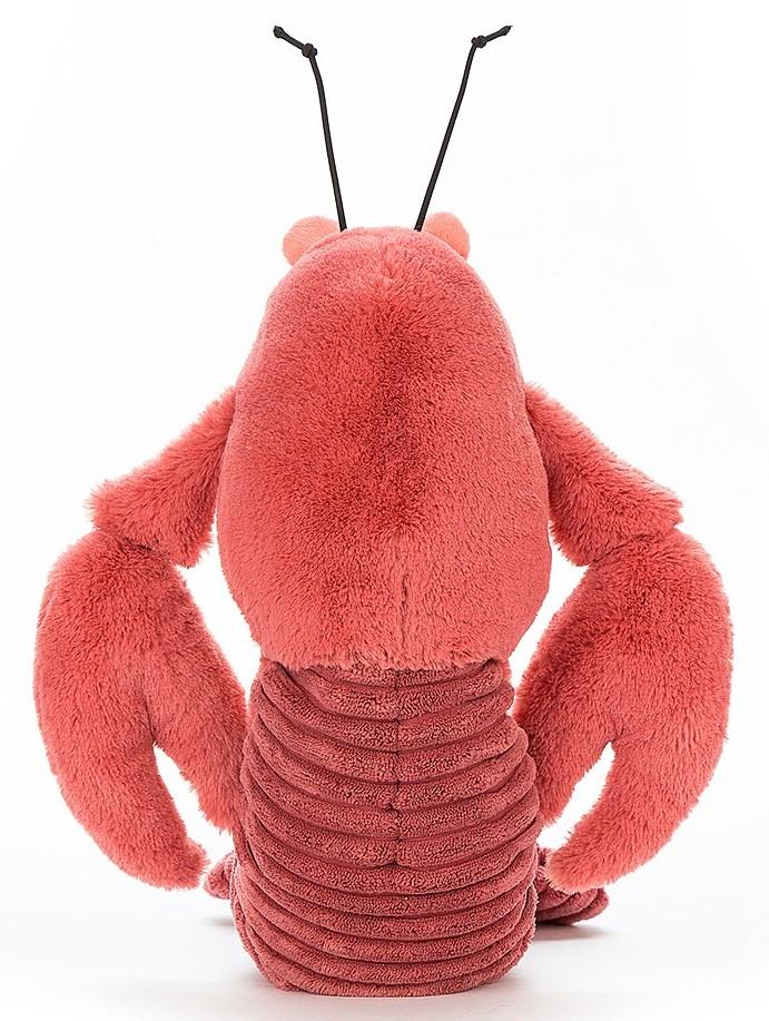 Peluche Homard Larry - 27 cm