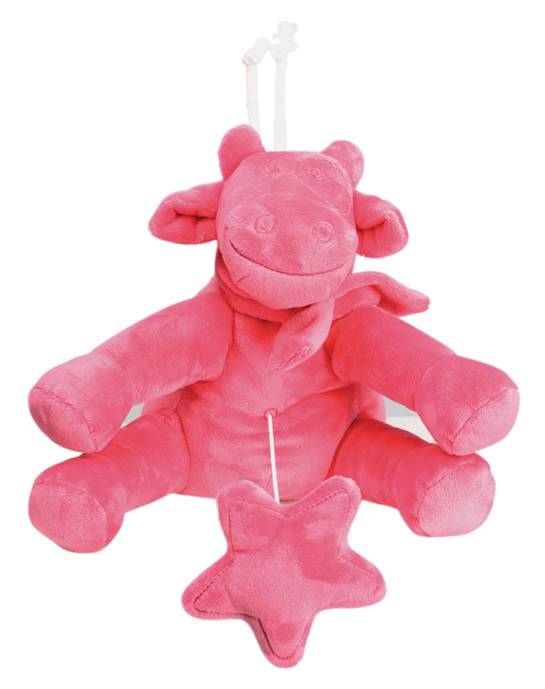 Peluche Musicale Vache Lola Framboise Mix and Match
