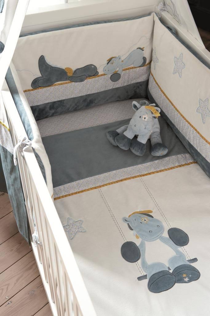 Noukies tour de lit victor et lucien doudouplanet for Chambre bebe noukies