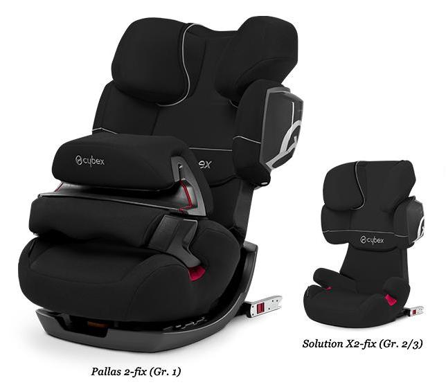 cybex si ge auto groupe 1 2 3 pallas 2 fix pure black. Black Bedroom Furniture Sets. Home Design Ideas