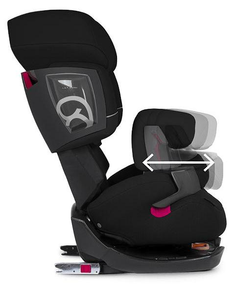 cybex si ge auto groupe 1 2 3 pallas 2 fix gray rabbit. Black Bedroom Furniture Sets. Home Design Ideas