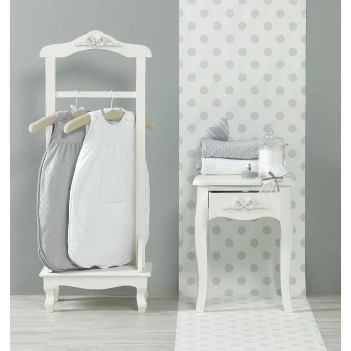 red castle gigoteuse ouatin e blanche pois et velours tog2 90cm. Black Bedroom Furniture Sets. Home Design Ideas